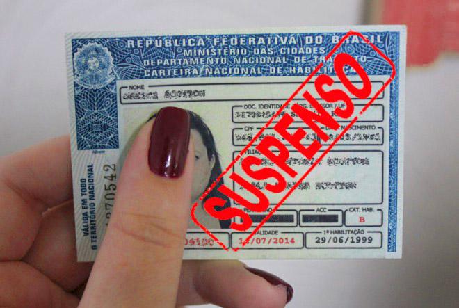 Suspensão do Direito de Dirigir